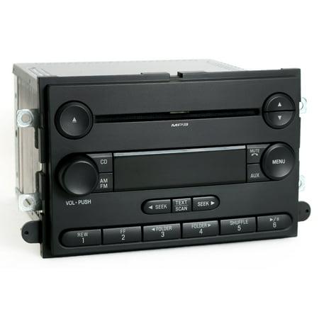 Ford Pickup Radio - 2007-2008 Ford F-150 Pickup Truck Radio AM FM mp3 CD Player - PN 7L3T-18C869-BH - Refurbished