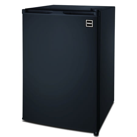 RCA 4.5 Cu Ft Single Door Mini Fridge RFR464, Black