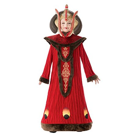 Star Wars Child's Deluxe Queen Amidala Costume, Medium - Star Wars Amidala Costumes