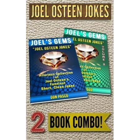 Joel Osteen Jokes   2 Book Combo  2 Hilarious Collections Of Joel Osteen Jokes