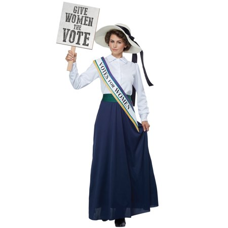 American Suffragette Adult - Suffragette Halloween Costume