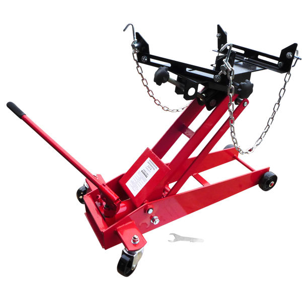 Captivating Hiltex 1/2 Ton Transmission Floor Jack Garage Vehicle Auto 360 Swivel  Casters Adjustable Head