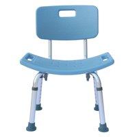 Adjustable 7 Gear Bathroom Chair Heavy-duty Aluminum Alloy Old People Backrest Bath Chair