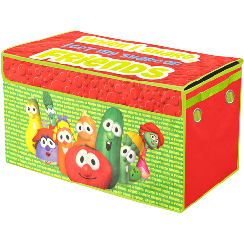 Dream Works Veggie Tales Collapsible Storage Trunk