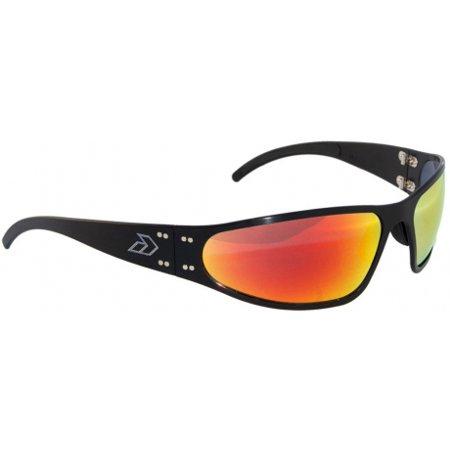 fd5011392a5 Gatorz - Wraptor BLACK Aluminum Scratch Resistant Sunburst Lens Sunglasses  - Walmart.com