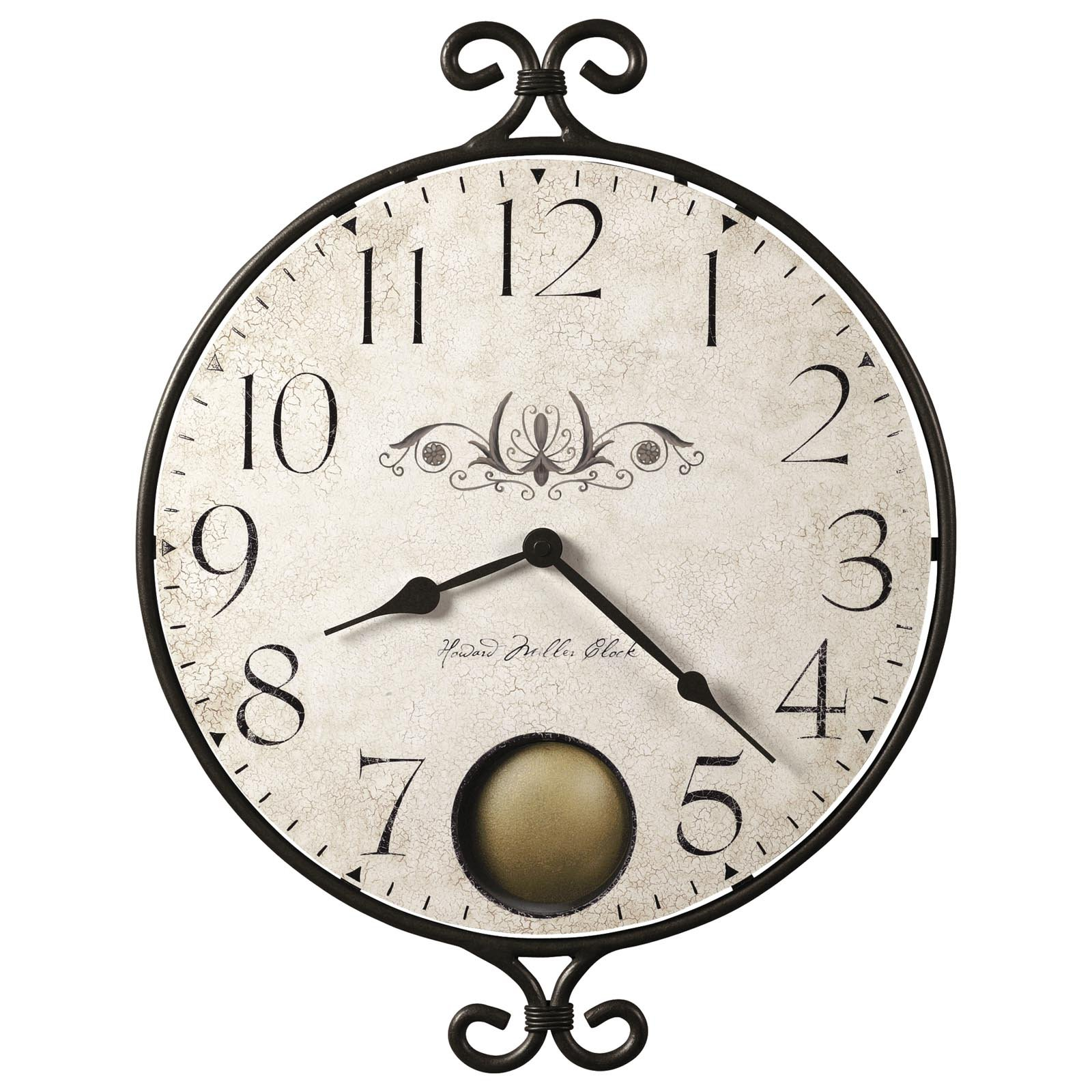 Howard Miller Randall Wall Clock - 14 in. Wide