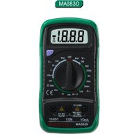 LCD Digital Multimeter (AC/DC 600V), Display: 1999 counts, 15mm Digit Height By Electronix Express