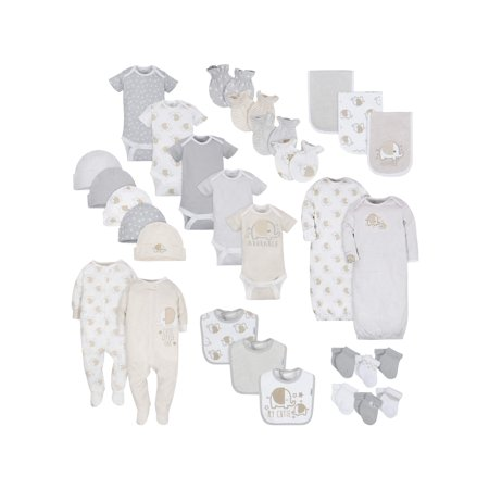 b86ff63cb776 Gerber - Layette Essentials Baby Shower Gift Set, 30pc (Baby Boy or Baby  Girl Unisex) - Walmart.com