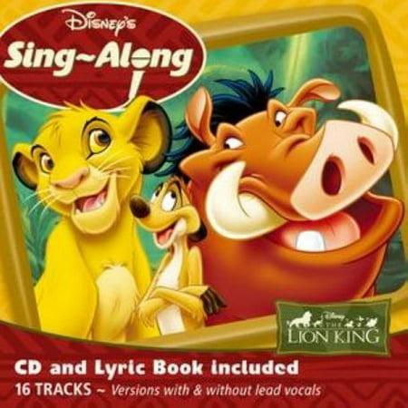 Sing a Long the Lion King (CD) - Halloween Sing Along Cd