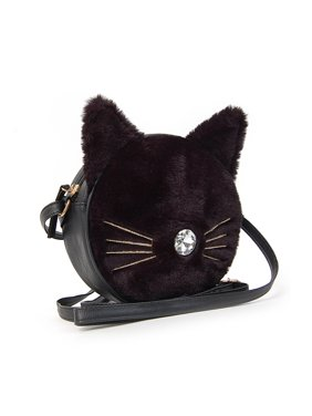 9498e9195 Product Image Faux Fur Kitty Crossbody