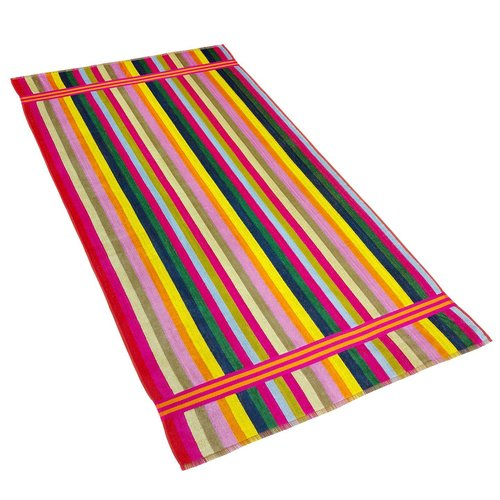 Kaufman Sales Candy Velour 100pct Cotton Beach Towel
