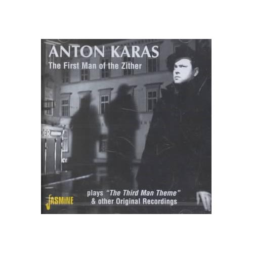 """Full title: The First Man Of The Zither Plays """"The Third Man"""" Theme & Other Original Recordings.<BR>Contains 25 tracks.<BR>Personnel includes: Anton Karas (zither); Kay Armen (vocals).<BR>Includes liner notes by Paul Pelletier."""