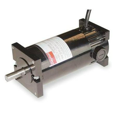 DC TENV Motor 1/7 HP 1750/3900 RPM 12/24VDC Dayton Model 4Z143 ()