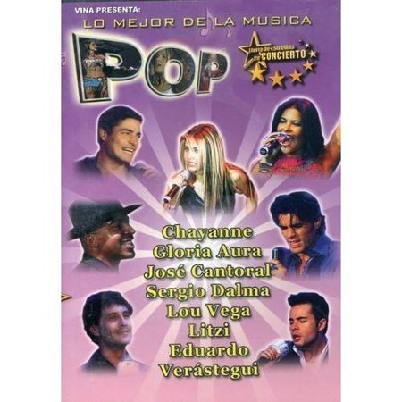 Lo Mejor De La Musica Pop (Music DVD) (Amaray Case)