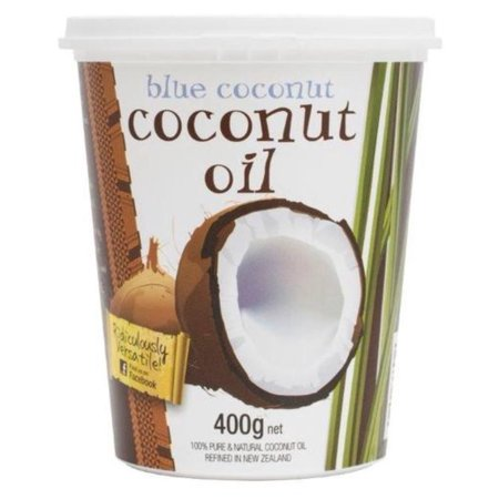 Blue Coconut Organic Refined Oil, Odorless and Flavorless. Cholesterol Free. Non Hydrogenated. 14 oz / 400 (400 Gram Thinsulate Vs 800 Gram Thinsulate)