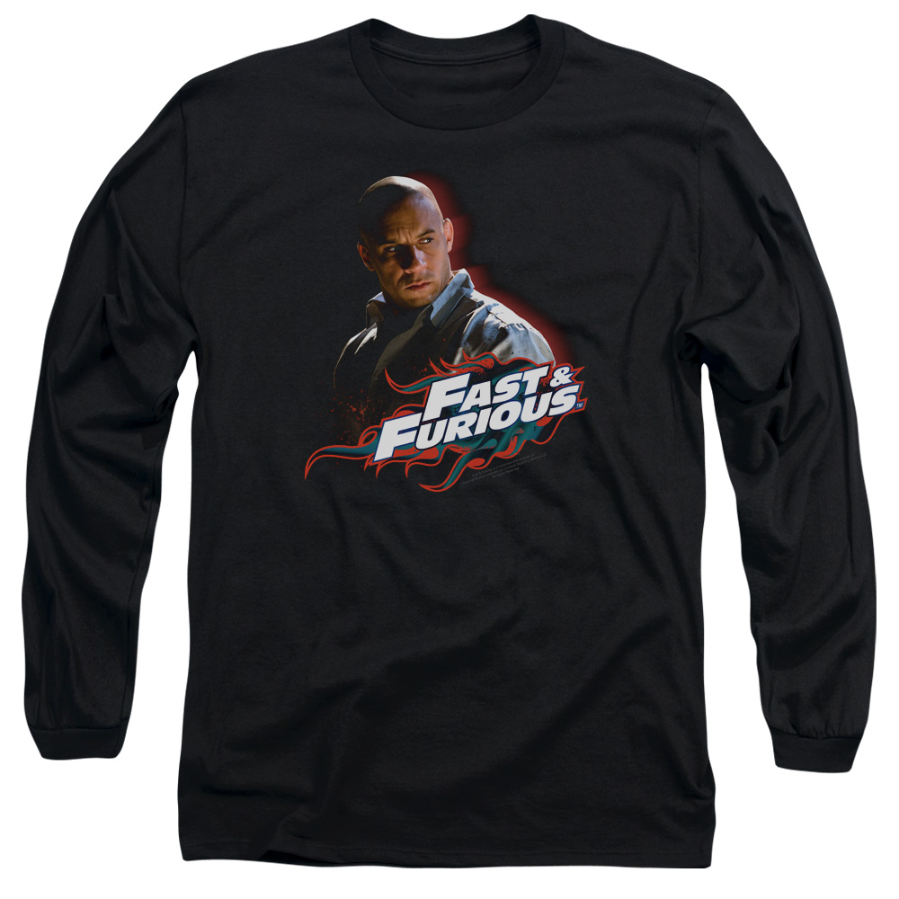The Fast and the Furious Toretto Mens Long Sleeve Shirt