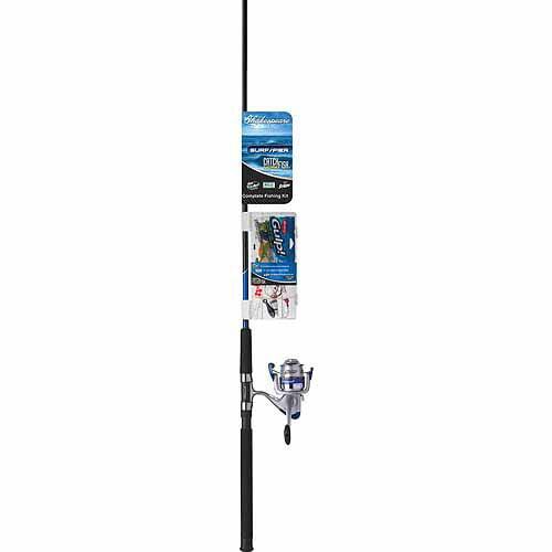 Shakespeare CMFSURFPIER8FT CMF Combo 8' Fishing Rod