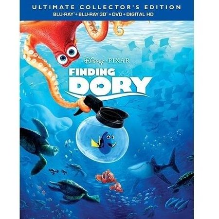 Finding Dory  Ultimate Collectors Edition   Blu Ray 3D   Blu Ray   Dvd   Digital Hd