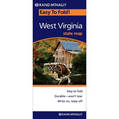 Easy finder map west virginia - folded map: (Map Of The Tidewater Region Of Virginia)