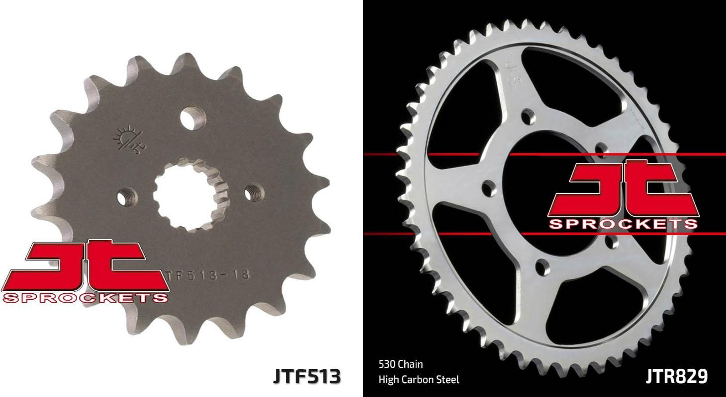 JT Rear Sprocket JTR829 47 Teeth fits Suzuki GSF 600 K1,K2,K3,K4 Bandit 00-04