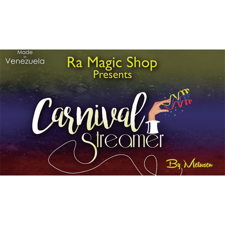 Carnival Streamer Halloween (Orange and Black) by Ra Magic - Halloween Streamers Ideas