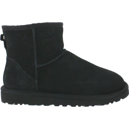 Ugg Australia Classic Mini Women US 6 Black Winter Boot UK 4.5 EU 37
