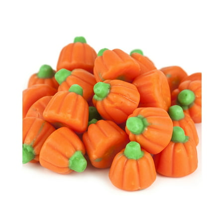 Mellocreme,Pumpkin Fall Halloween Candy, 2 Lbs - Decorated Candy Apples Halloween