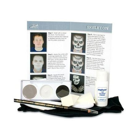 Skeleton Makeup Character Kit](Halloween Skeleton Mouth Makeup)