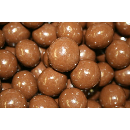 BAYSIDE CANDY MILK CHOCOLATE MALT BALLS, 1LB (Chocolate Sports Balls)