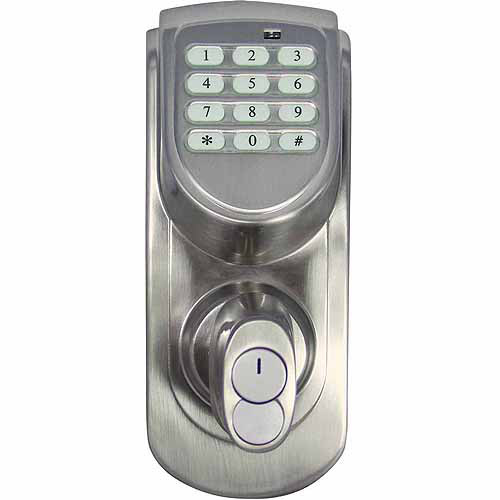 Design House 702530 Keypad Deadbolt, Satin Nickel Finish
