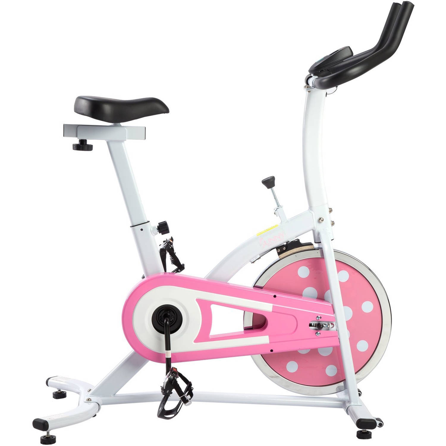 Sunny Health and Fitness P8100 Pink Indoor Cyling Bike