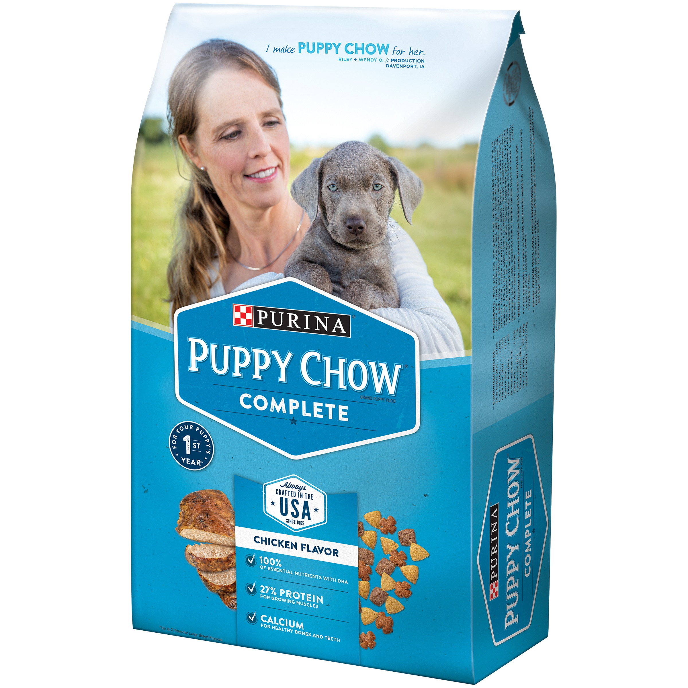 Puppy Chow Large Breed Formula Dry Dog Food