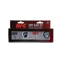 UFC Shot Glass 4 Pack