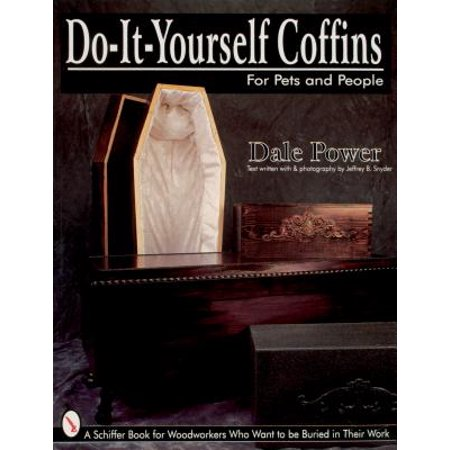 Do It Yourself Coffin for Pets