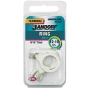 """3400355,RING TERMINALS UNINSULATED,,Stud Size=9/16"""",Wire Gauge=12-10"""