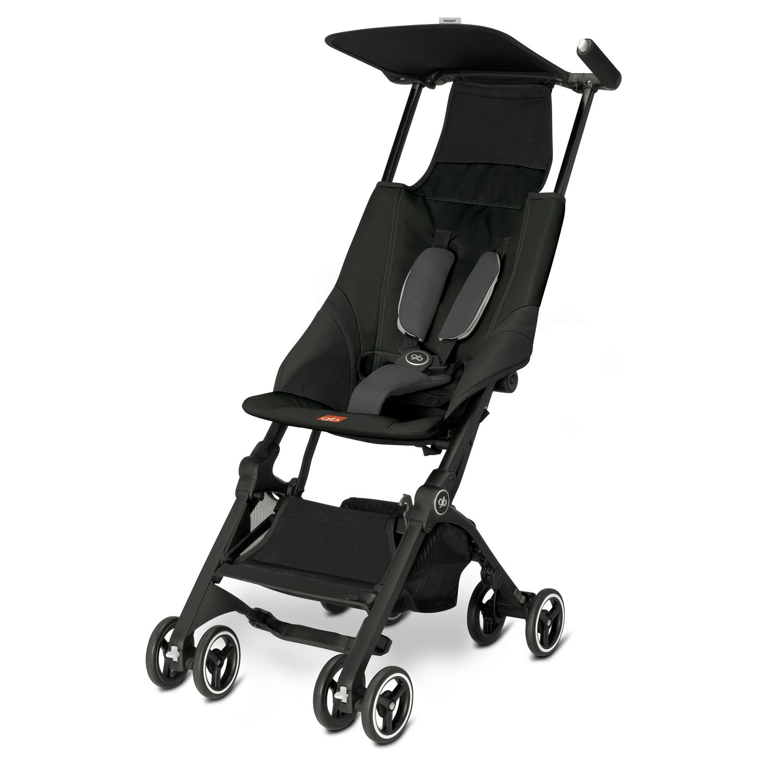 GB Pockit Lightweight Stroller, Monument Black by GB