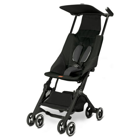 GB Pockit Lightweight Stroller, Monument Black