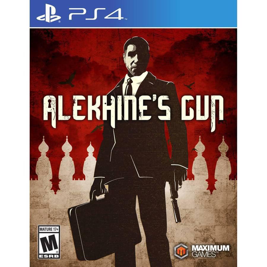 Alekhine's Gun, Maximum Games, PlayStation 4, 814290013196