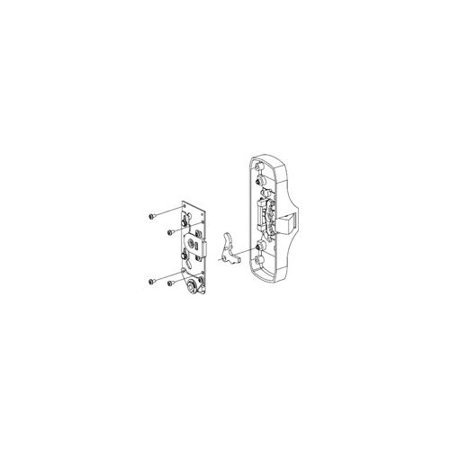 (Von Duprin 050103 Knob / Lever Backplate Conversion Kit for 88 Series Exit Devic)