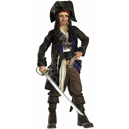 Pirates of the Caribbean Captain Jack Child Halloween Costume