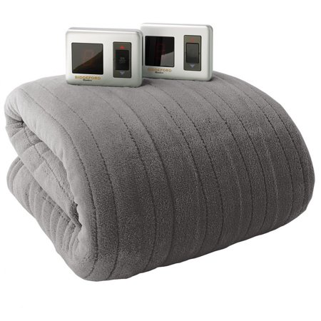 Biddeford Micro Plush Electric Heated Blanket With Digital Controller, King,