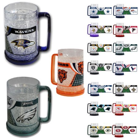 New NFL ALL 32 Teams Available 16oz Crystal Freezer Mug by Duck House Sports