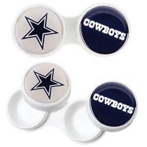 Dallas Cowboys 2 Pack Contact Lens Case Dallas Cowboys Party Pack