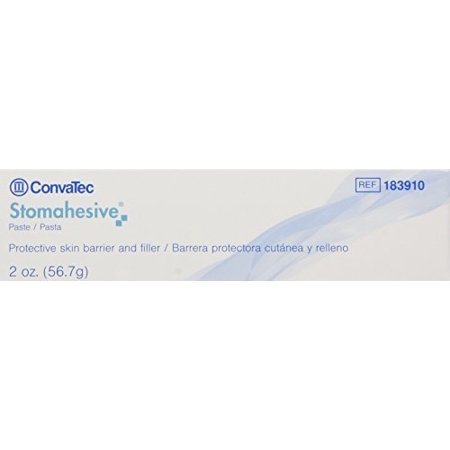 Convatec 183910 Stomahesive Paste: Pack of Five (5) Two Ounce Tubes Convatec Stomahesive Paste