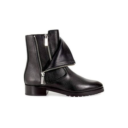 Sonya Blade Boots (Michael Michael Kors Womens Andi Flat Leather Closed Toe Mid-Calf Motorcycle)