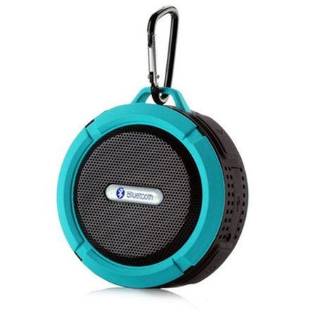 C6 Waterproof Bluetooth Speaker Mini Wireless Shower Radio Suction Cup Stereo