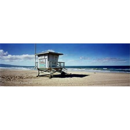 Liuard Hut On The Beach 8th Street Station Manhattan Los Angeles County California Usa