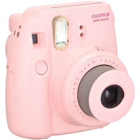 FujiFilm Pink 16273415 Instax Mini 8 Camera - Walmart.com