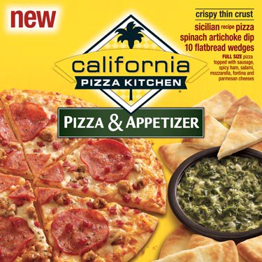California Pizza Kitchen Sicilian Pizza Plus Plus Spinach