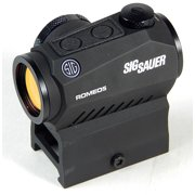 Sig Sauer Romeo 5 1x20mm 2 Moa Red Dot Sight with Mounts